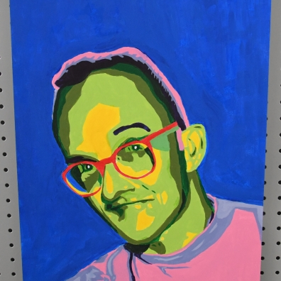 15 x 20 inch acrylic paint